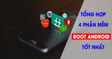 Phần mềm Root Android