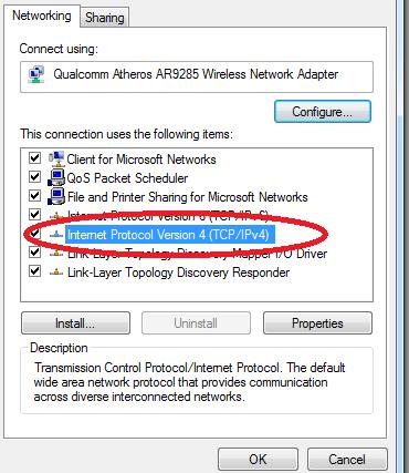Wifi laptop bị lỗi dấu chấm than (3)