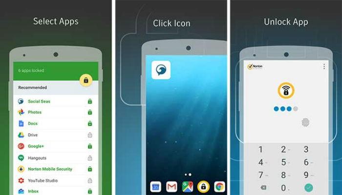 Phần mềm khóa ứng dụngHexlock App Lock