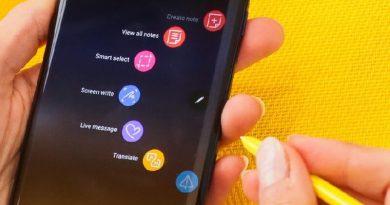 mẹo sử dụng Samsung Galay Note 9