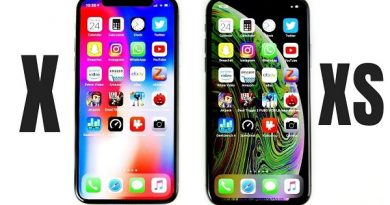 So sánh iPhone X và Xs