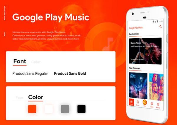 Ứng dụng Google Play Music miễn phí với số người dùng đông đảo
