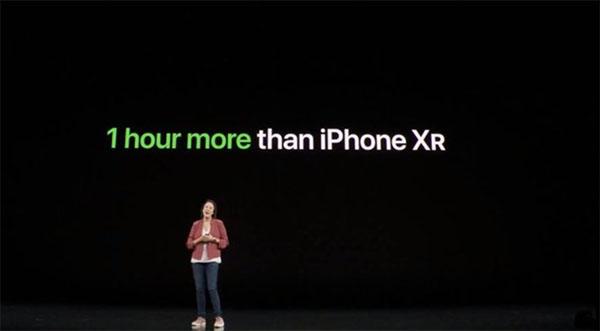 iPhone 11/ 11 Pro có thời lượng sử dụng lâu hơn 1 giờ so với iPhone XR