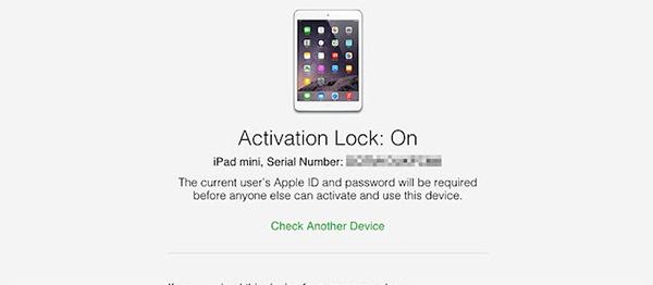 Nếu là Activation Lock: ON có nghĩa iPhone đang được đăng nhập 1 tài khoản iCloud nào đó