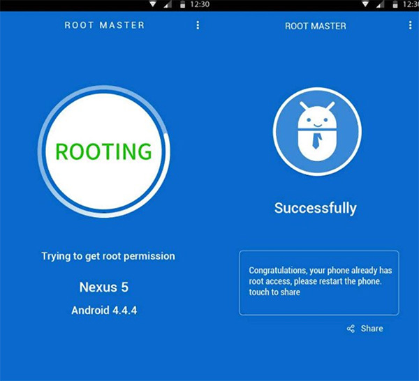 Ứng dụng Root Master cho điện thoại Android